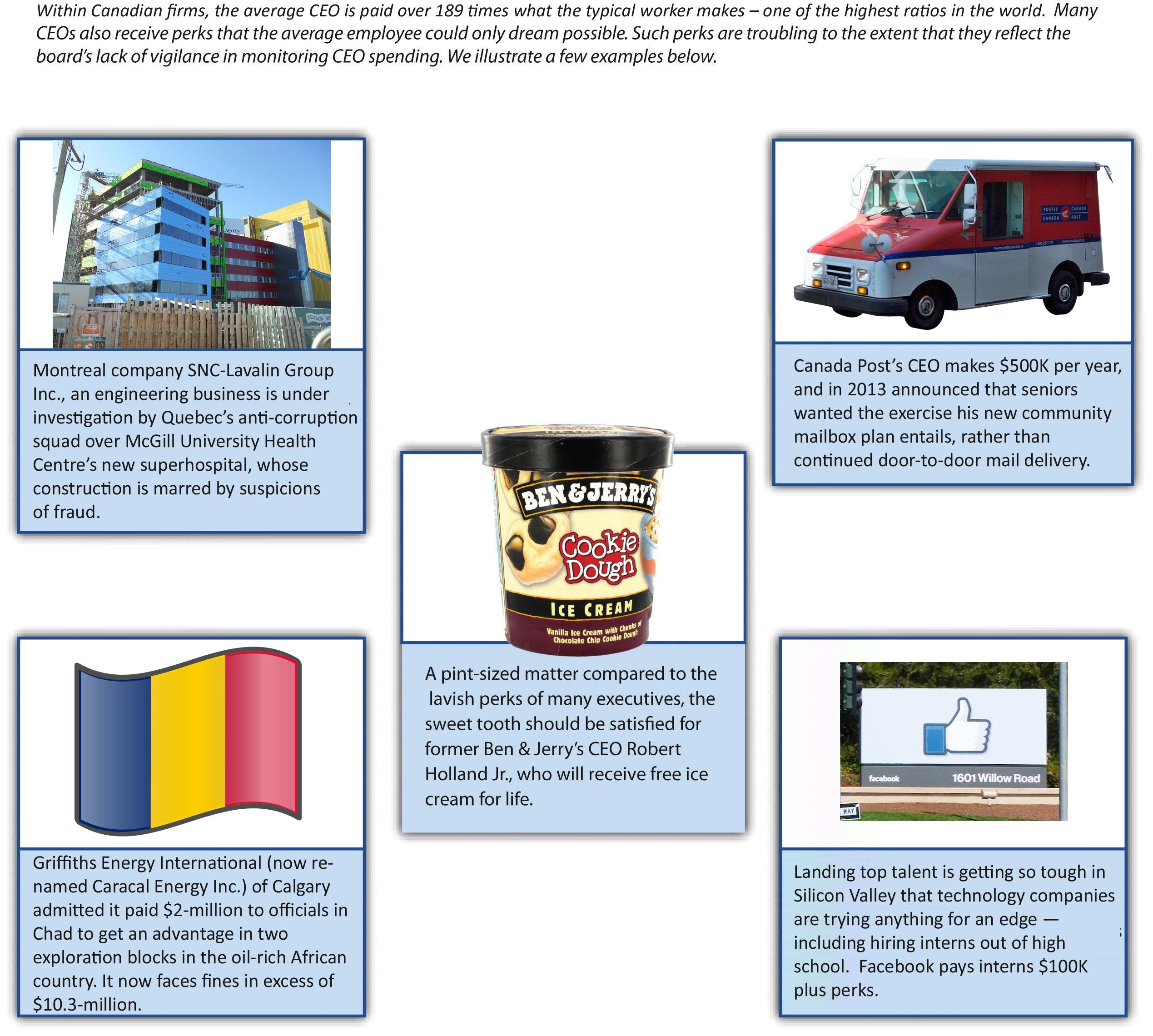 Figure 10-3: CEO Perks, image description available
