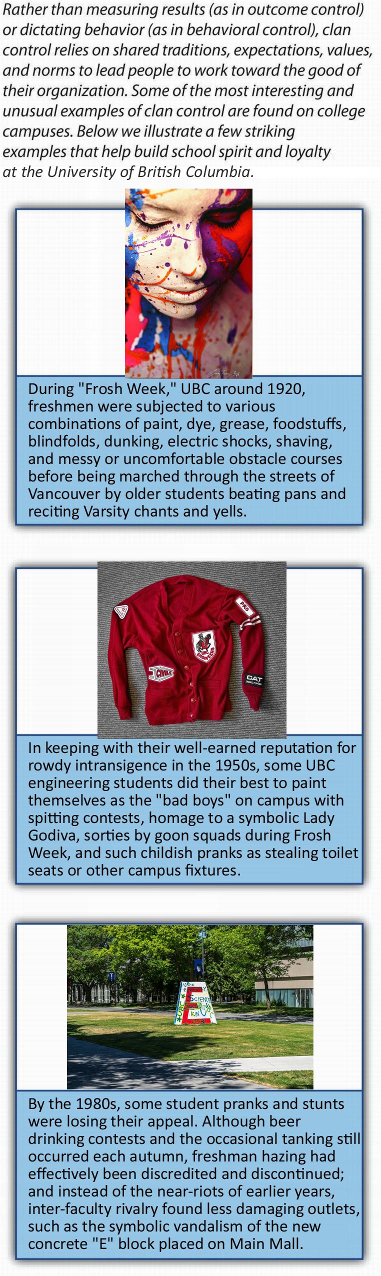 Figure 9-20: Clan Controls, image description available