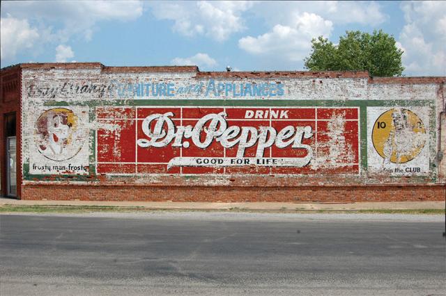 Dr. Pepper Advertisement
