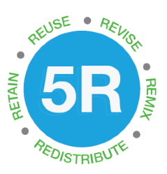 5R: Reuse, Revise, Remix, Redistribute, Retain