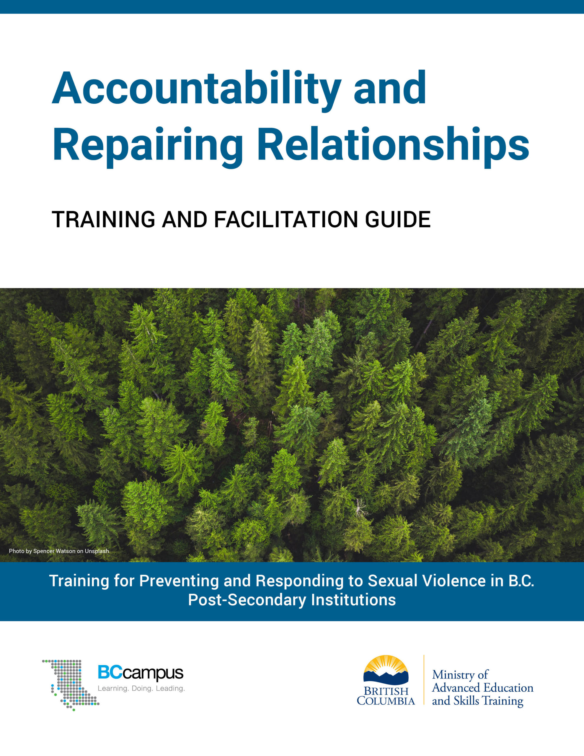 Cover image for Accountability and Repairing Relationships: Training and Facilitation Guide