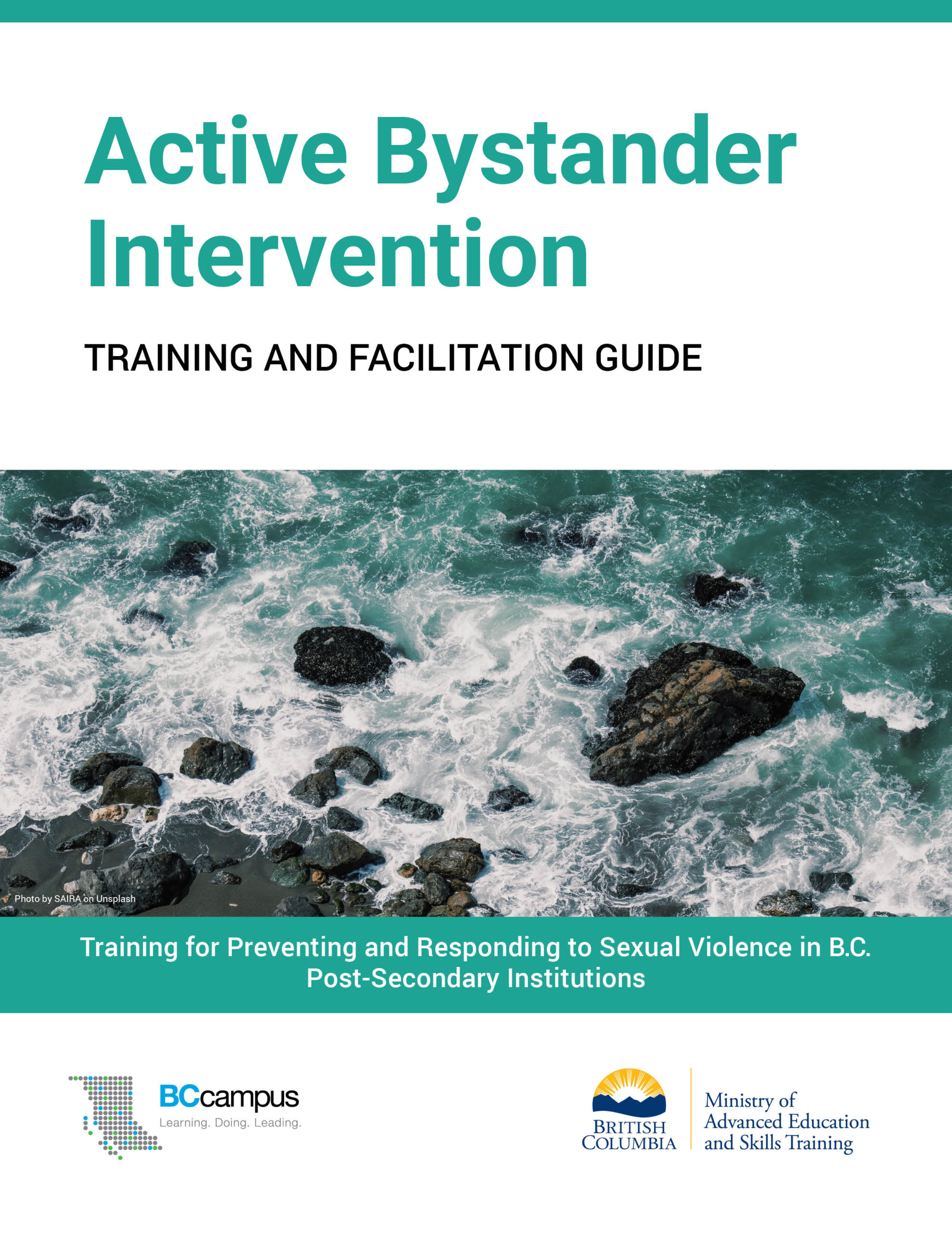 Cover image for Active Bystander Intervention: Training and Facilitation Guide