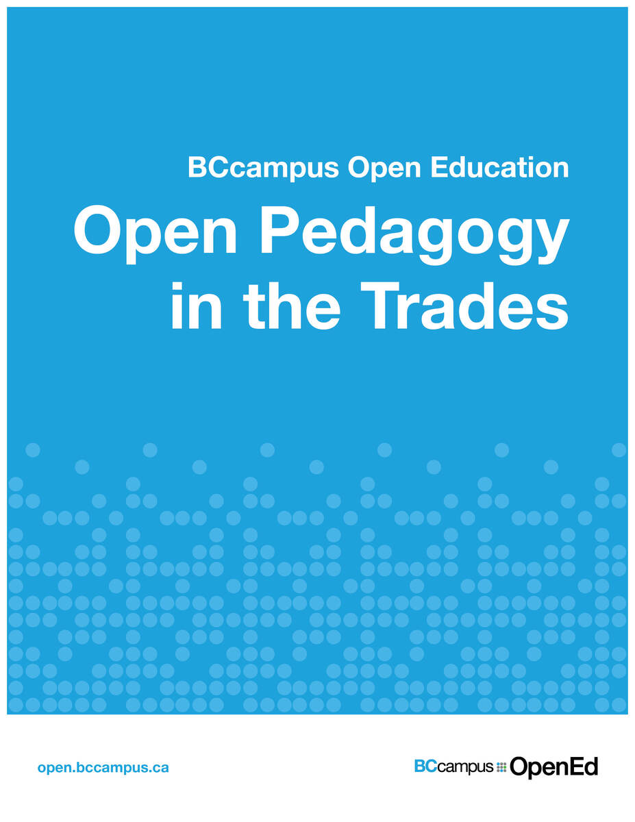 Cover image for Open Pedagogy in the Trades