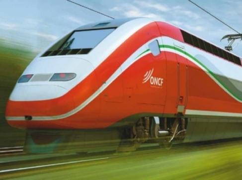 A photo of a TGV high speed train