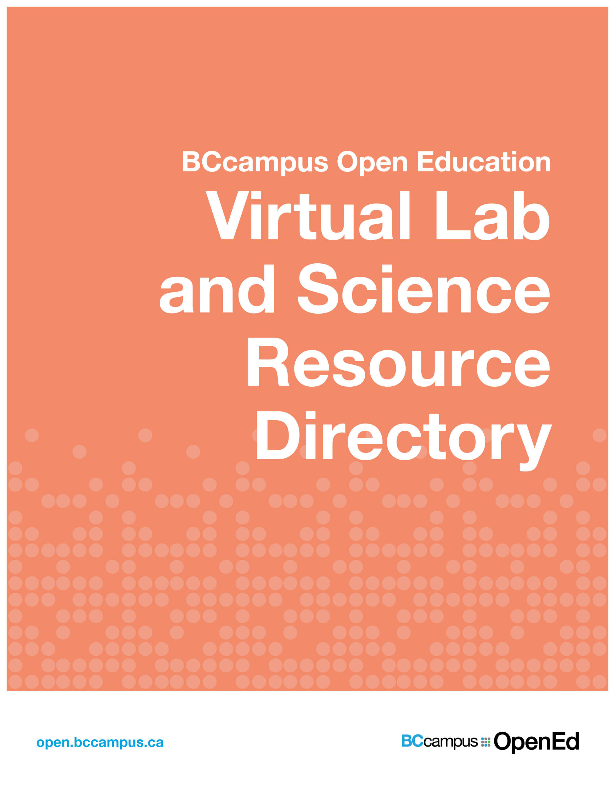 Cover image for Virtual Lab and Science Resource Directory