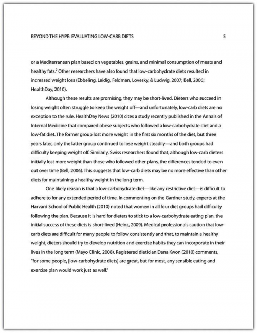 Example Powerpoint Presentation Research Paper
