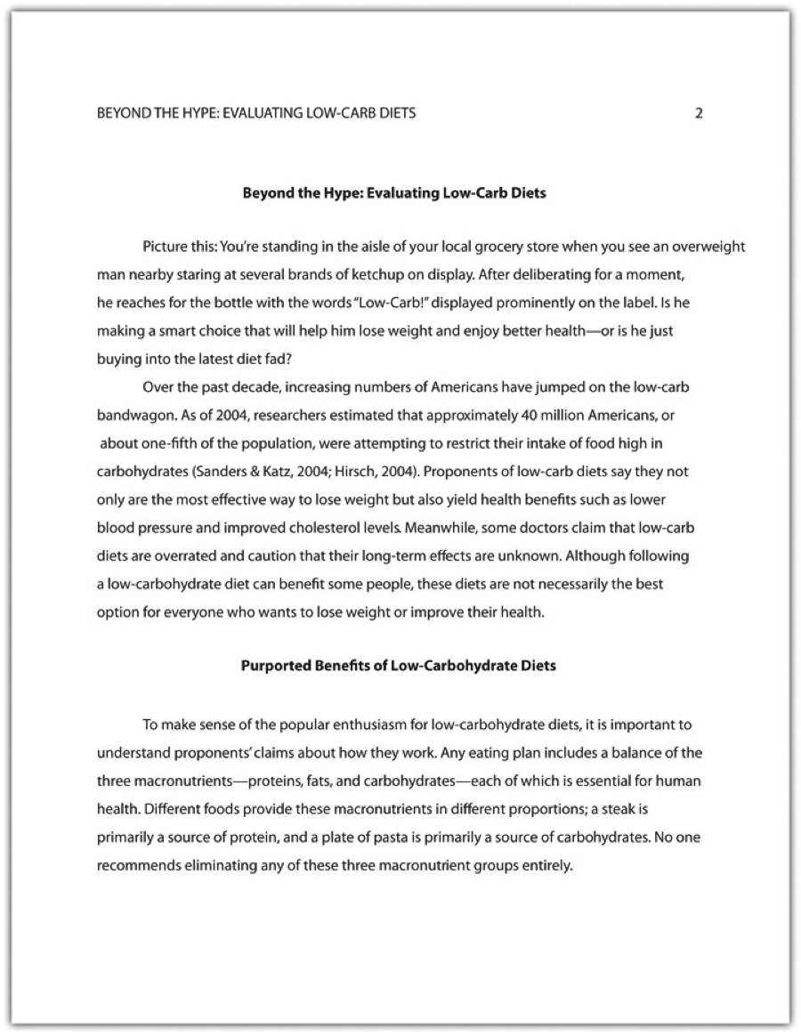 chap12_8 Observation Paper Example Apa Format on running head, heading sub-heading, conference proposal, one page reflection, written subheadings, research template, first page,