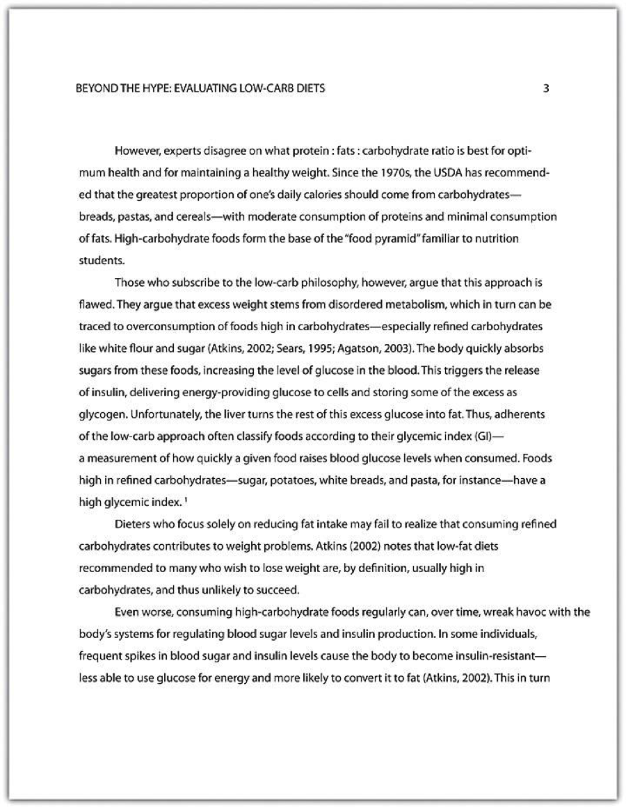 guidelines writing research paper apa format